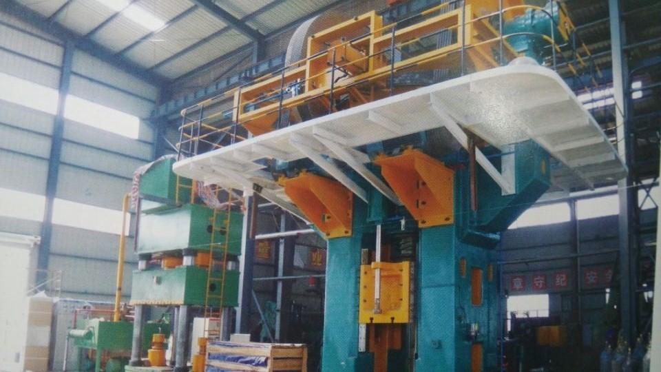 4000吨摩擦压力机生产线